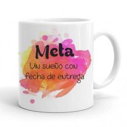 Taza Personalizada con la frase Meta